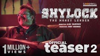 Shylock Official Teaser 2   Mammootty   Ajai Vasudev   Gopi Sundar   Goodwill Entertainments