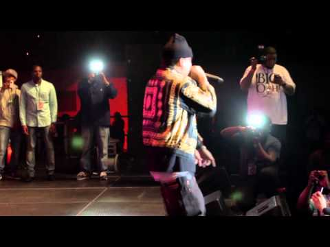 Rick Ross, French Montana, Meek Mills performing live at JamzFest Atlantic CIty 2012 pt 1