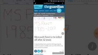 Microsoft shutting down MS PAINT