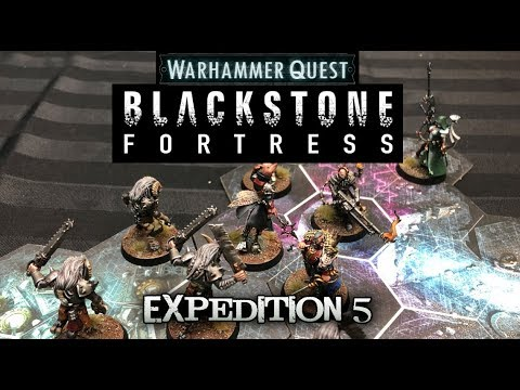 Warhammer Quest: Blackstone Fortress - Expedition 05 - The Descent