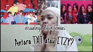 MV REACTION TXT or ITZY?