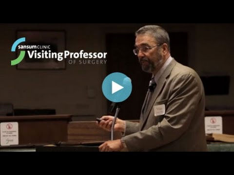 Visiting Professor of Surgery 2016 - Michael G  Sarr MD
