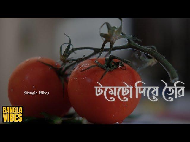 লাল টমেটো দিয়ে তৈরি একটি অস্থির *রেসিপি* | Bangla Vibes Kitchen