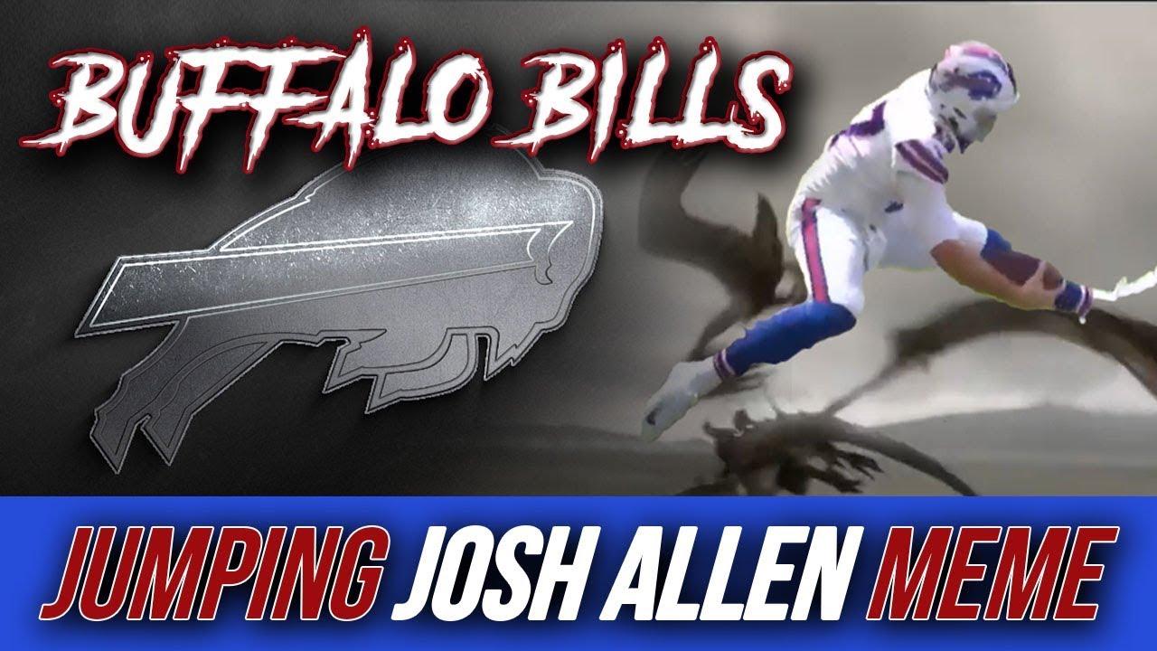 Jumping Josh Adams Buffalo Bills Meme Youtube