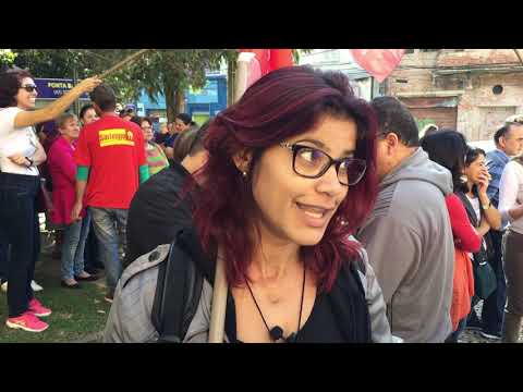 Depoimento da professora Thais Cristina dos Santos,  de Serviço Social, da UEPG