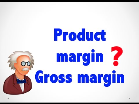 What is Product Margin Gross margin ? - Wholesale terms