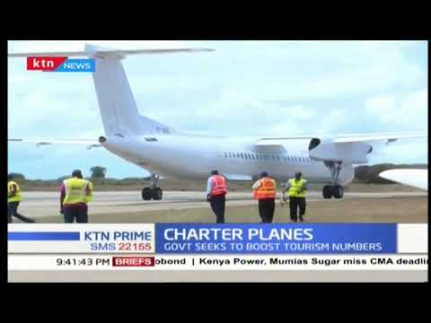 Charter planes : Government seeks to boost tourism numbers