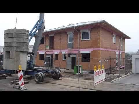 Doppelhaus als Stadtvilla Bad Nauheim 07 Schneller als geplant  Wir haben hier gerade  -6 Grad
