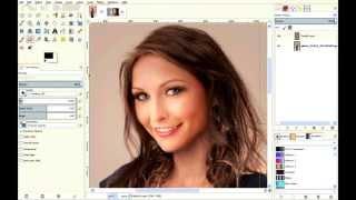 Face replace tutorial GIMP 2.8