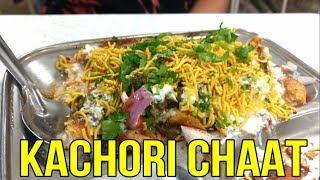 Khasta Kachori Chaat   Pune Street Food   Recipe   Indian Street Food