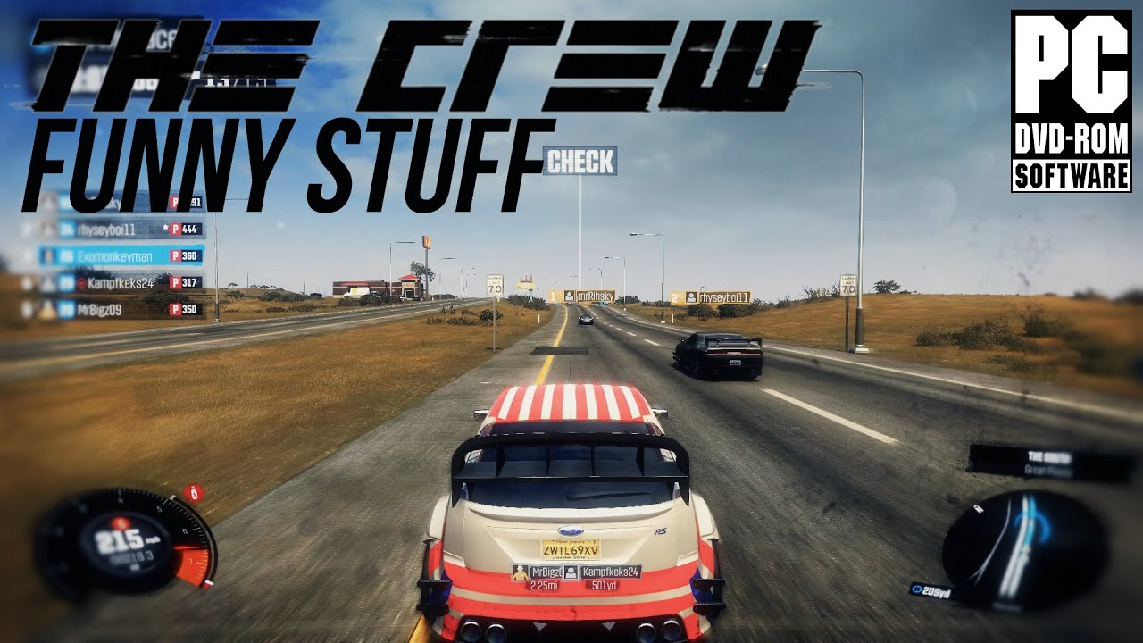 the crew fun moments glitches multiplayer pc youtube. Black Bedroom Furniture Sets. Home Design Ideas