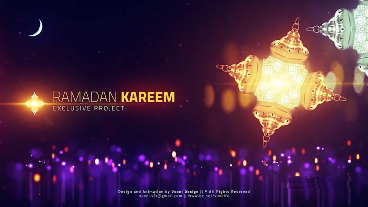 Ramadan Video Template - After Effects Template