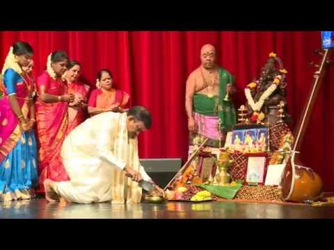 Nila Nambiran Violin & Vocal Arangetram Part-1