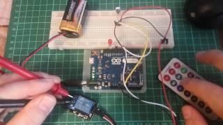 Arduino, реле и ИК-пульт IR Remote