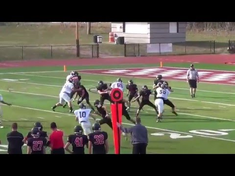 Charlie Ratner Class of 2018 Sophomore Football Highlights
