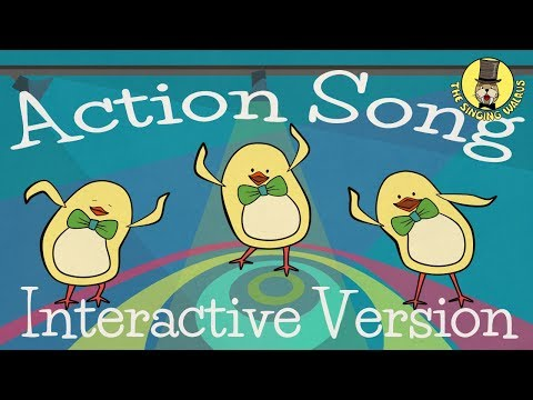 Action Song (interactive version) | The Singing Walrus