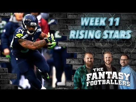 Fantasy Football 2016 - Week 11 Studs, Duds, Rising Stars, Updates - Ep. #312