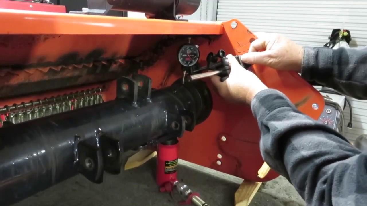 WoodMaxx FLAIL MOWER - How to change the main bearing
