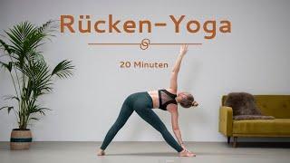 Yoga für einen entspannten unteren Rücken | gegen Rückenschmerzen | Rückenyoga auch für Anfänger