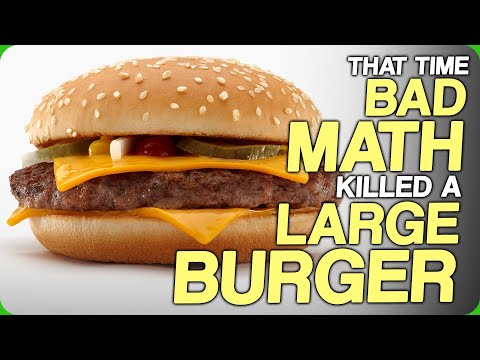 That Time Bad Math Killed a Large Burger (Forbidden McDonald's and Hustling with Trolleys)