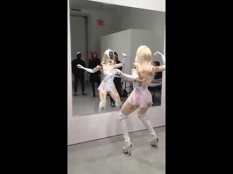 Creepy Dancing Stripper Robot   Video