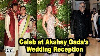 Celeb Galore at Akshay Gada's Wedding Reception
