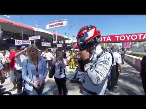 Indycar 2016 - Fecha 3 - Long Beach (Audio Español Latino)