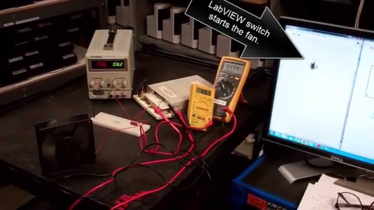 B33522 Fan Switch Labview Relay Youtube
