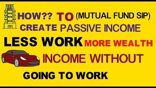 Passive Income by investing in mutual funds Regular Income कैसे बनाएँ?
