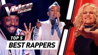 Download Video The Voice Kids | BEST RAPPERS in the Blind Auditions [PART 2] MP3 3GP MP4