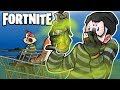 FORTNITE BR - NEW STINK BOMBS AND SHOPPING CART STUNTS! (Funny Moments)