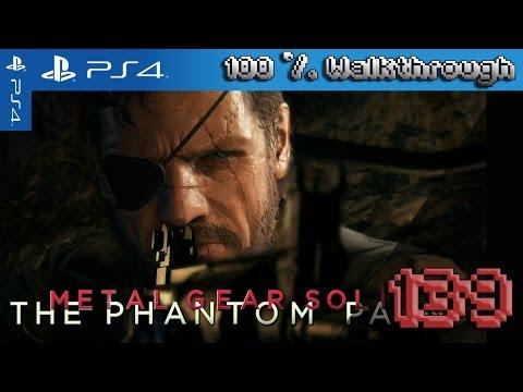 Metal Gear Solid V: The Phantom Pain 100% Walkthrough Part 139 - Pitch Dark (Total Stealth)
