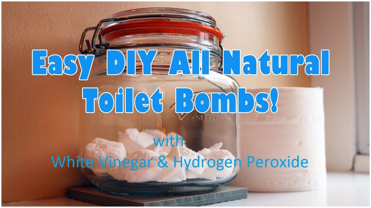 Bathroom cleaner bomb - Diy All Natural Toilet Cleaning Bombs With Vinegar And Hydrogen Peroxide Natural Cleaning