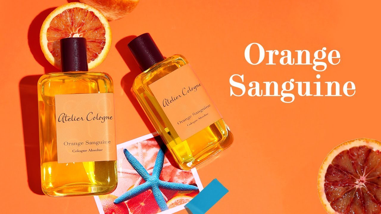Blood orange perfume Orange Sanguine - Atelier Cologne