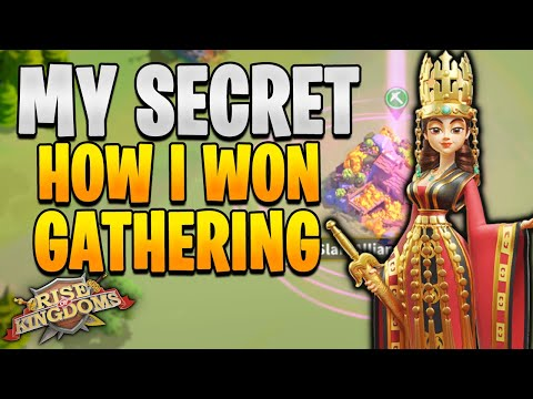 How to Win All Gathering Event! Tips and TAX Hack in RoK | Rise of Kingdoms