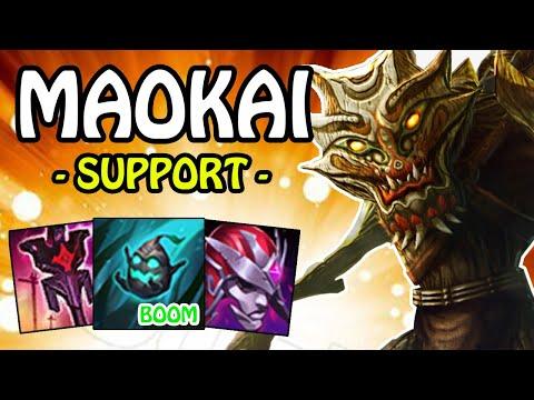 MAOKAI SUPPORT, mit den Imperial Mandate Sprösslings-Bomben   League of Legends Full Gameplay