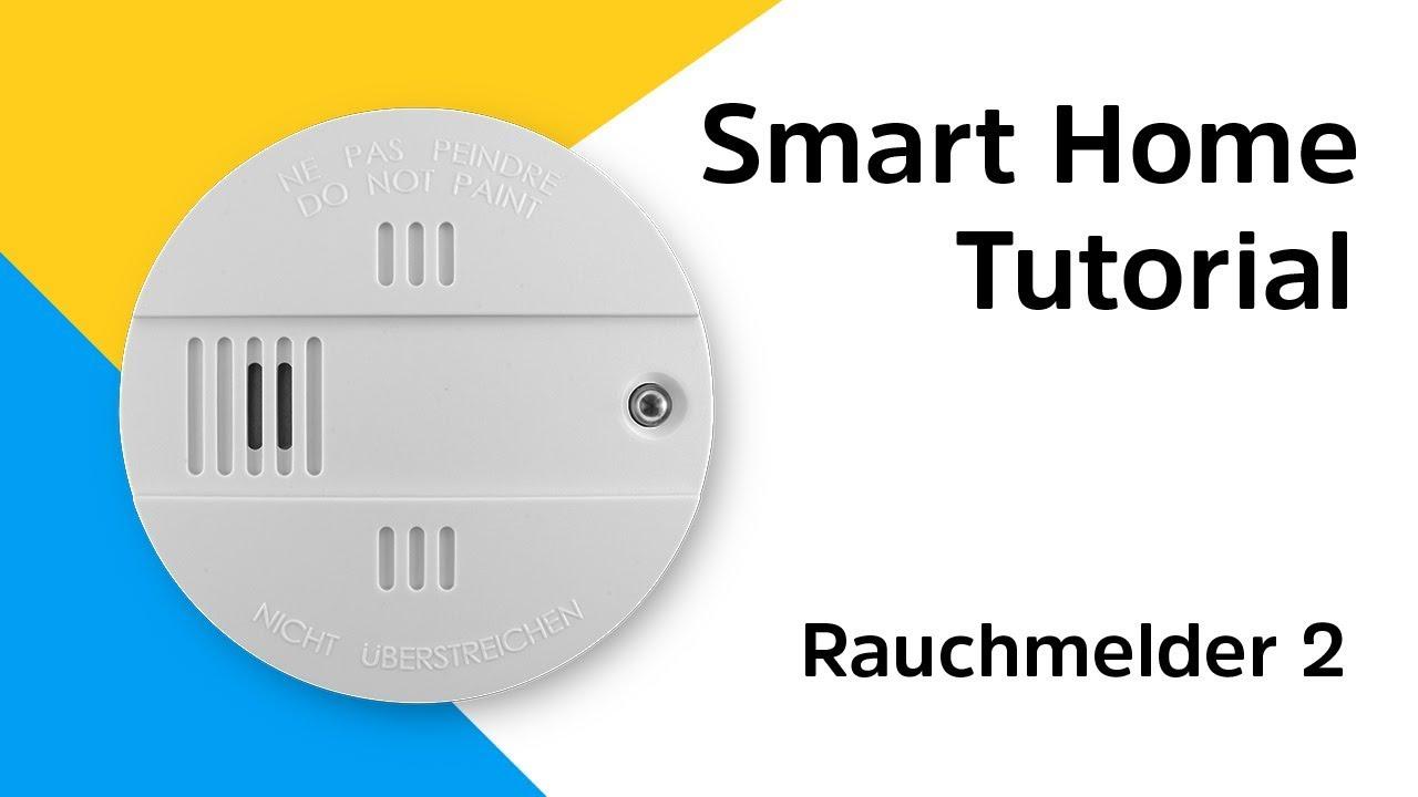 Video: Rauchmelder Pflicht | So binden Sie den Rauchmelder 2 in Ihr Smart Home System ein | TechniSat