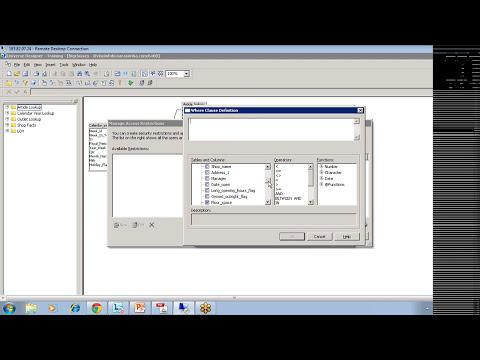 SAP Business Objects Online Tutorials - Part 2