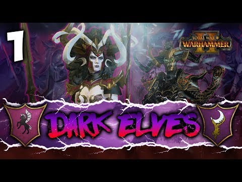 DARK ELVES WILL RULE ALL! - Total War: Warhammer 2 - Dark Elves Co-op Campaign w/ Lionheartx10 #1
