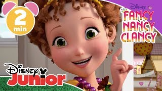 Fancy Nancy Clancy | How To Make A Plain Outfit Fancy ✨ | Disney Junior UK