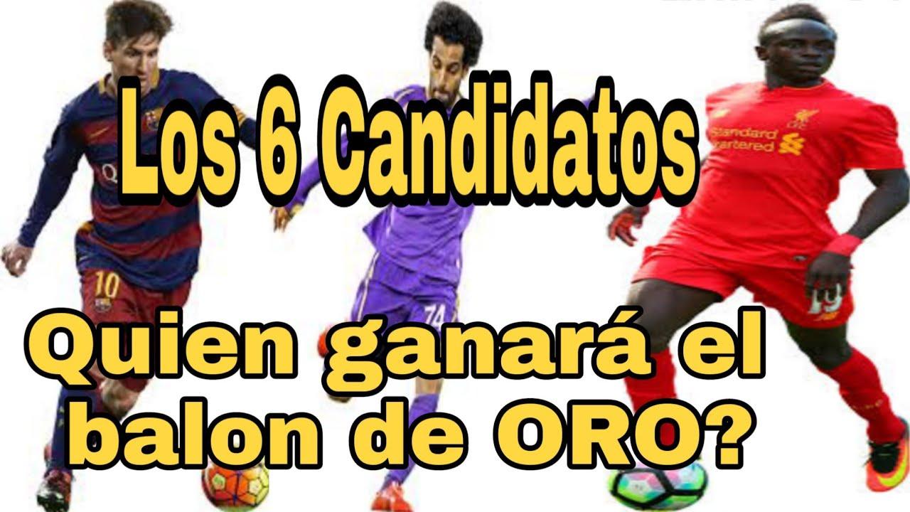Quien Ganara El Balon De Oro 2019 6 Candidatos Youtube