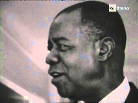 Louis Armstrong interview for Italian TV