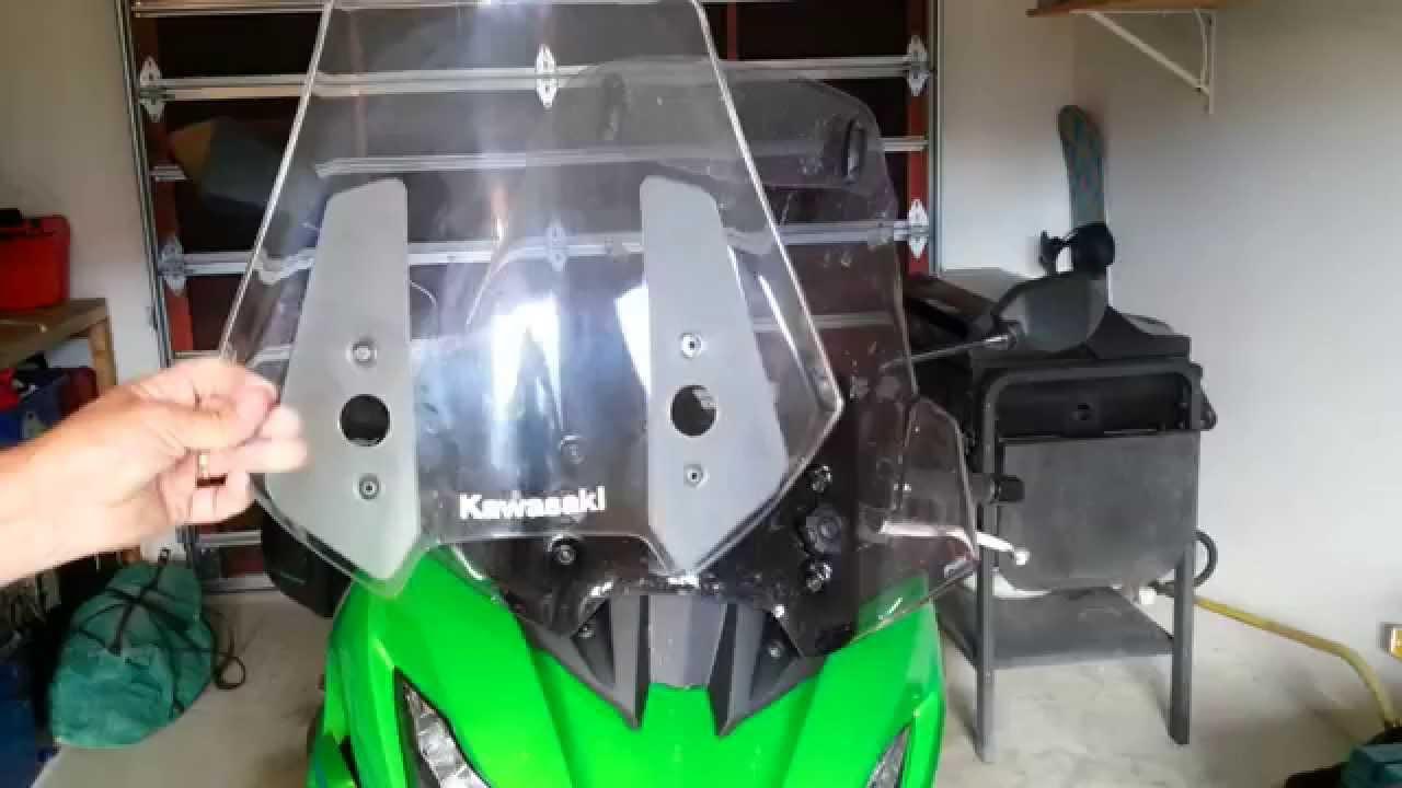 Puig Screen With Visor Review For Kawasaki Versys