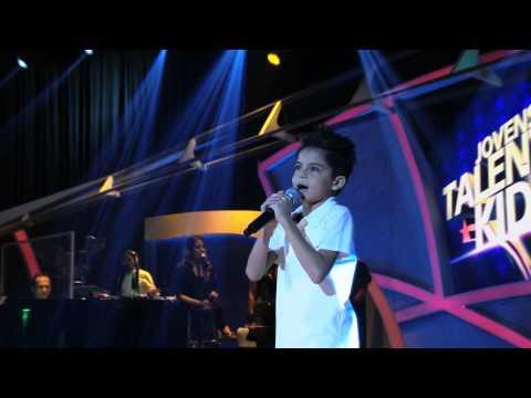 Programa Raul Gil - Alexandre Nunes (Eu Aposto) - Jovens Talentos Kids