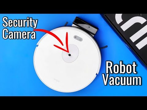 Robot Vacuum and Security Camera - Trifo Ironpie M6 Review