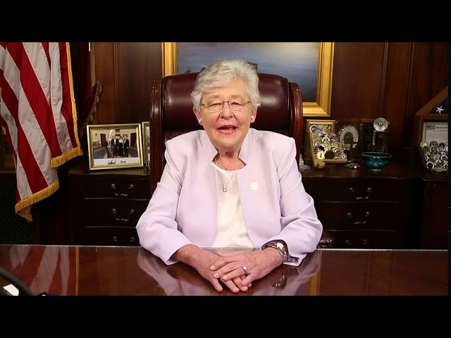 Video: Governor Ivey offers encouragement as educators, staff and students return to school