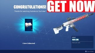 How to Get Red Line Wrap Fortnite (World Cup rewards 2019)
