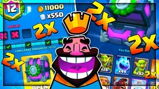 THIS WAS SO FUN! Clash Royale 2x Elixir Challenge Finale