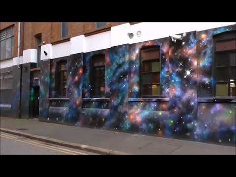 Cheba Street Art, Library Street Belfast