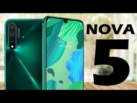 Huawei Nova 5, Nova 5 Pro y Nova 5i ¿VALEN LA PENA?